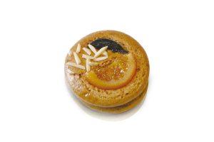 Honig-Lebkuchen belegt